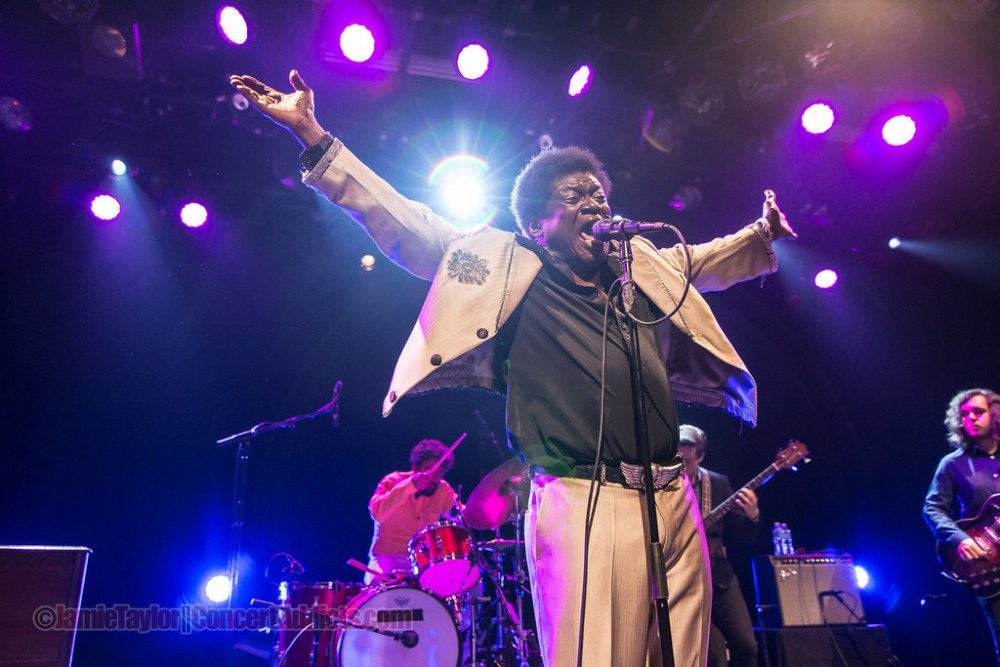Charles Bradley at the Commodore Ballroom in Vancouver, BC on May 20, 2016