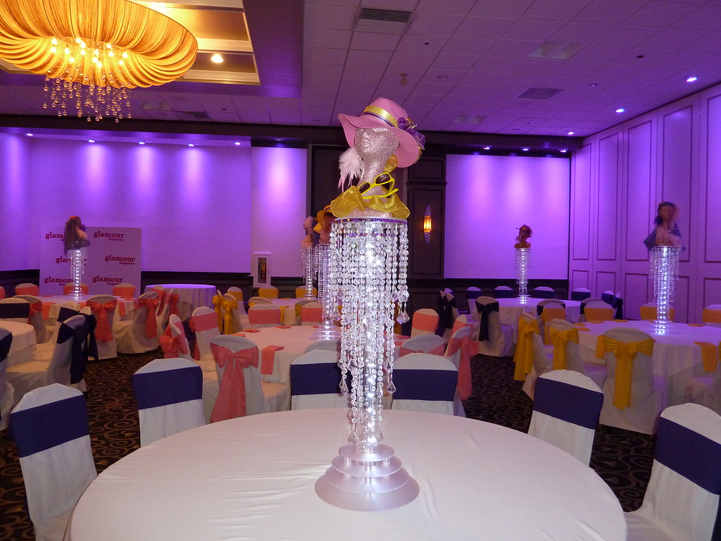 Sweet 16 Fashion Glamour Vogue Theme Party Centerpiece At