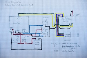 Arduino Controlled Barn Door Project  Wiring Diagram | Flickr