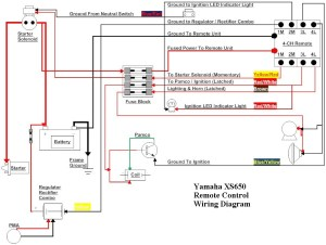 Yamaha XS650 Remote Control Wiring Diagram TampaSVT | Flickr