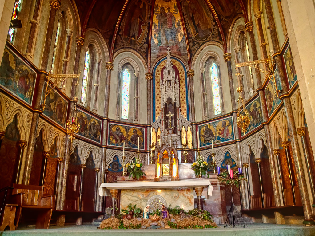The Chancel Of The Roman Catholic Church Of The Holy Ghost