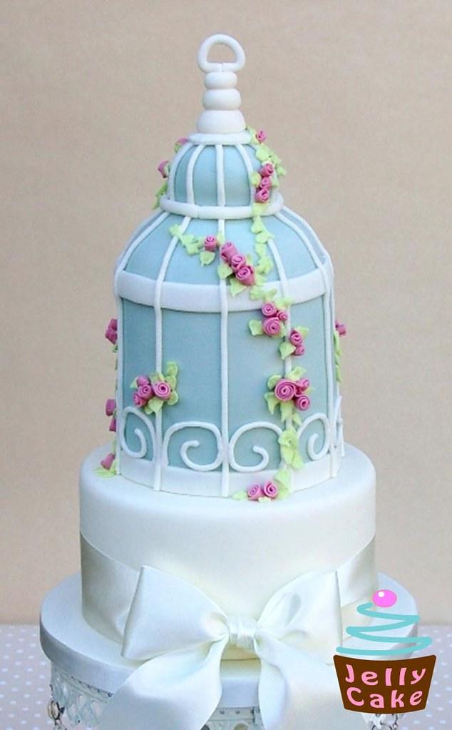 Bird Cage Wedding Cake A Bird Cage Cake Inspired By Zoe