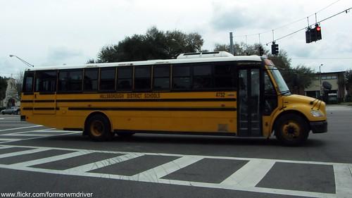 Hillsborough District Schools Bus - 4732 | Flickr - Photo ...