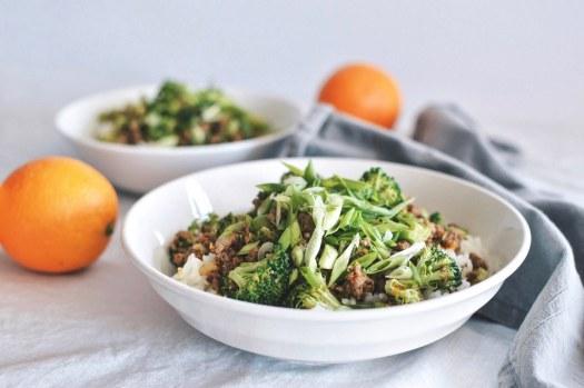 Orange Beef and Broccoli