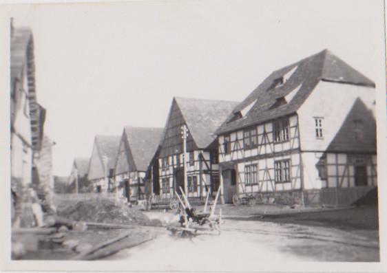 old German village | In German this kind of house is ...
