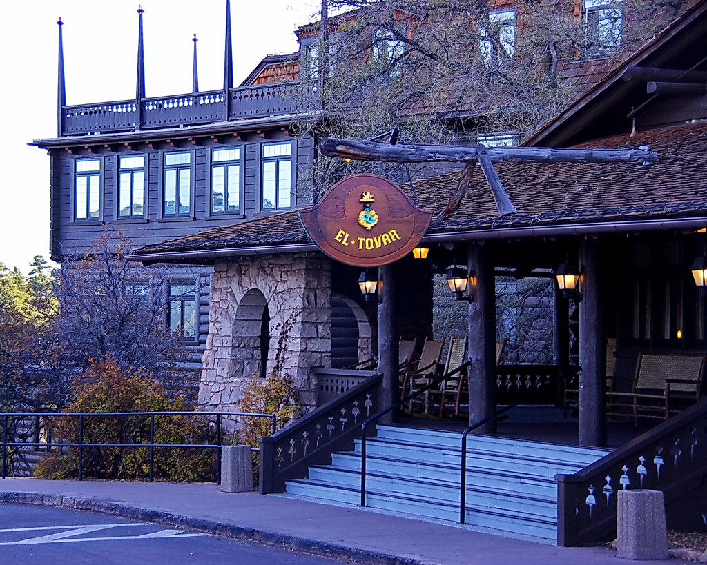 El Tovar Lodge Entry Amp Sign Grand Canyon Village Flickr
