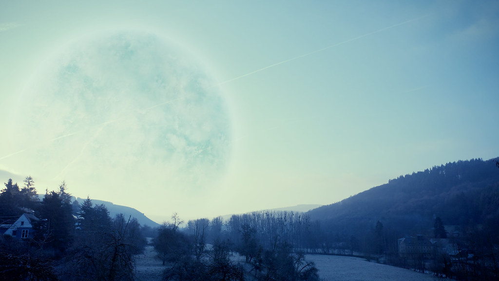 Planet Melancholia This Morning Taken With Canon 5d