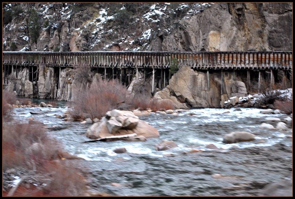 Truckee River Flume Mystic California 5 Views Flickr