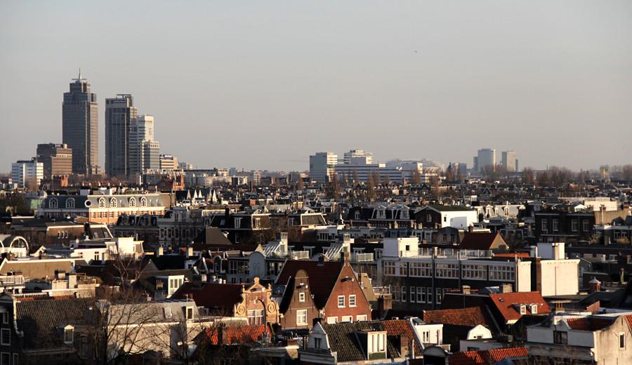 Amsterdam Skyline Wolfgang Josten Flickr