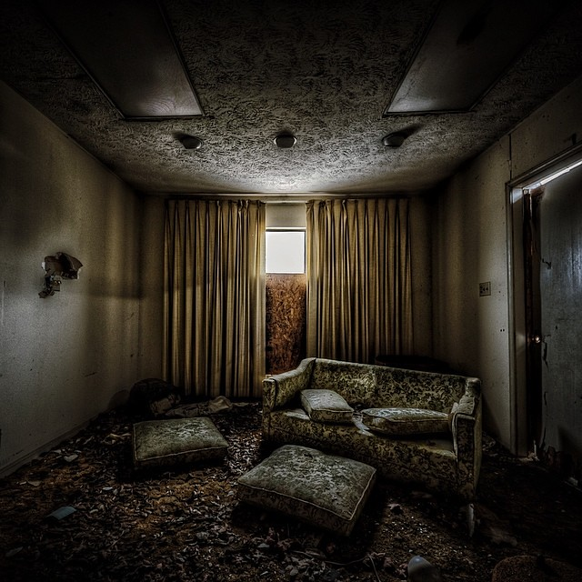 Abandoned Funeral Home Jeff Hagerman Flickr