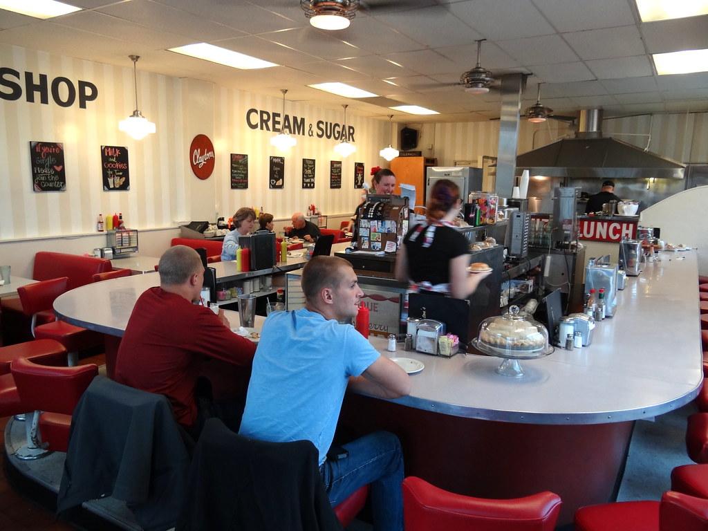 Interior Of Claytons Cafe Coronado San Diego CA US