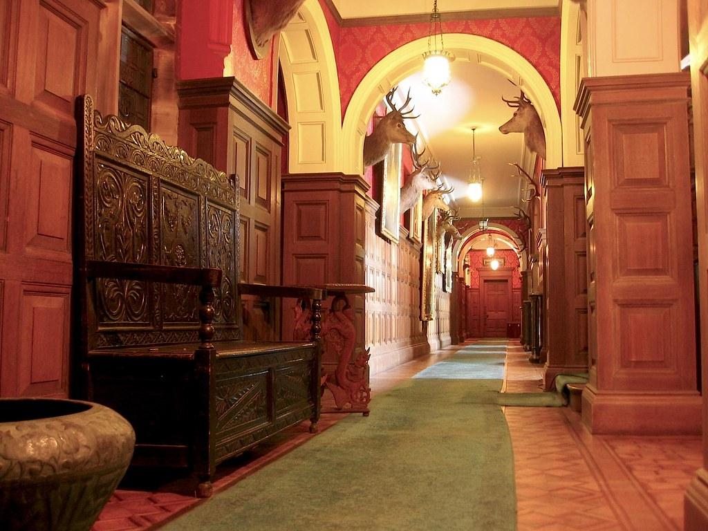 Kinloch Castle Corridor Interior Corridor Of Kinloch