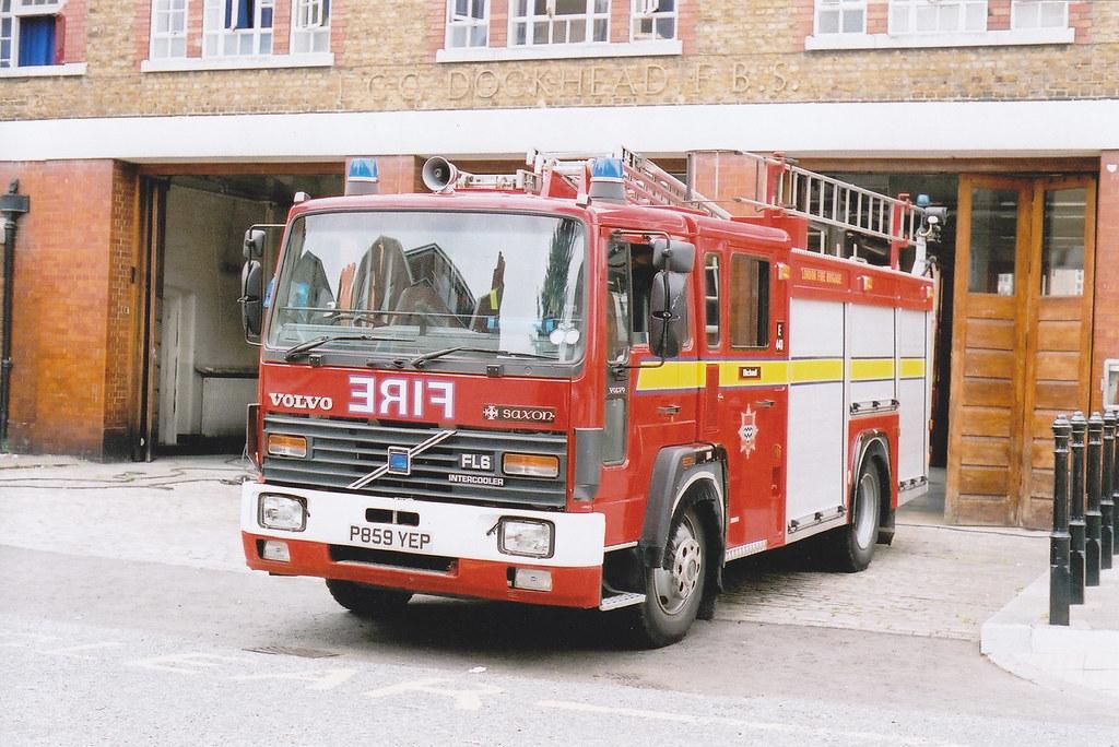 P859 YEP Volvo FL614 Saxon Sanbec Pump Ladder Used In