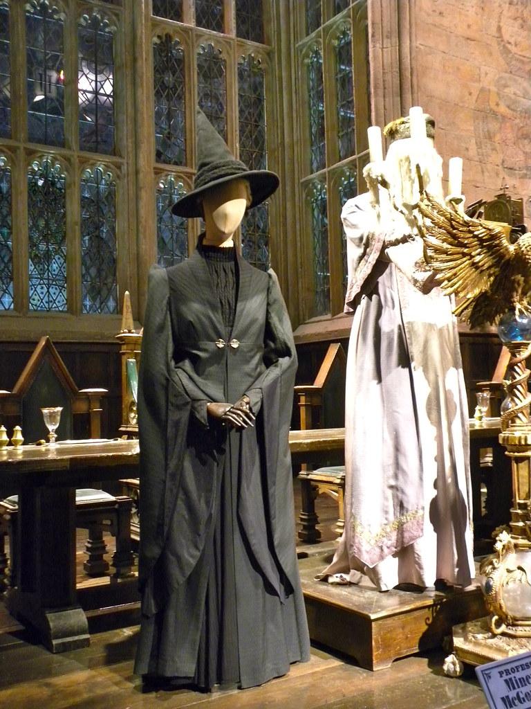 Harry Potter Studio Tour Professor McGonagall Costume