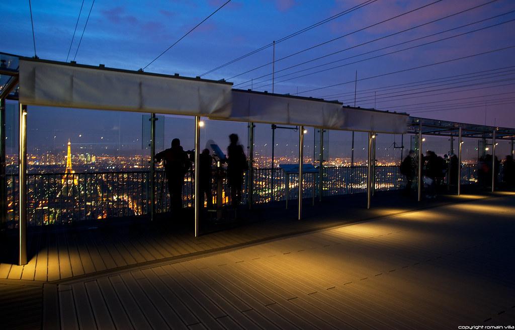 Terrasse De La Tour Montparnasse Paris Romvis Most