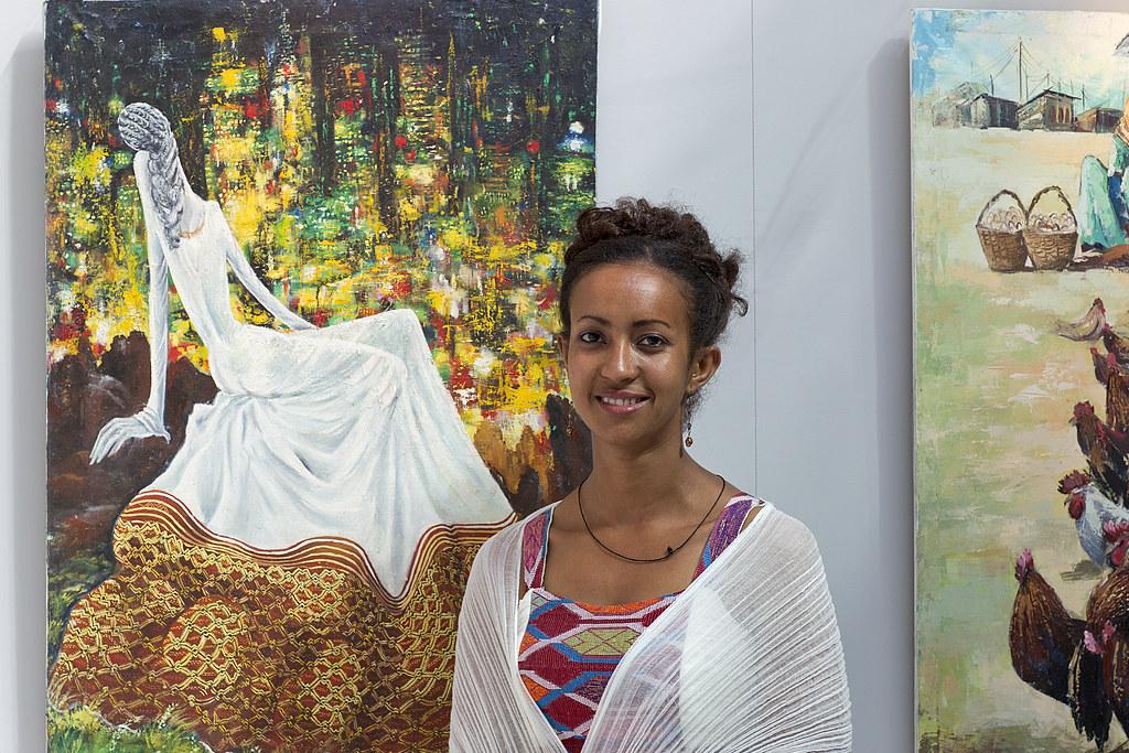 Kidist Berhane Gebregiorgis Ethiopian Artist An