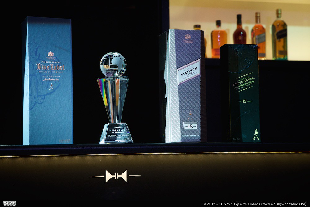 De felbegeerde Diageo World Class Belgium 2016 titel.