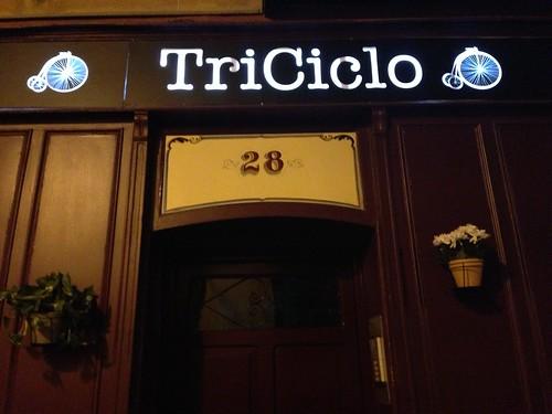 TriCiclo, Barrio de Las Letras. Madrid