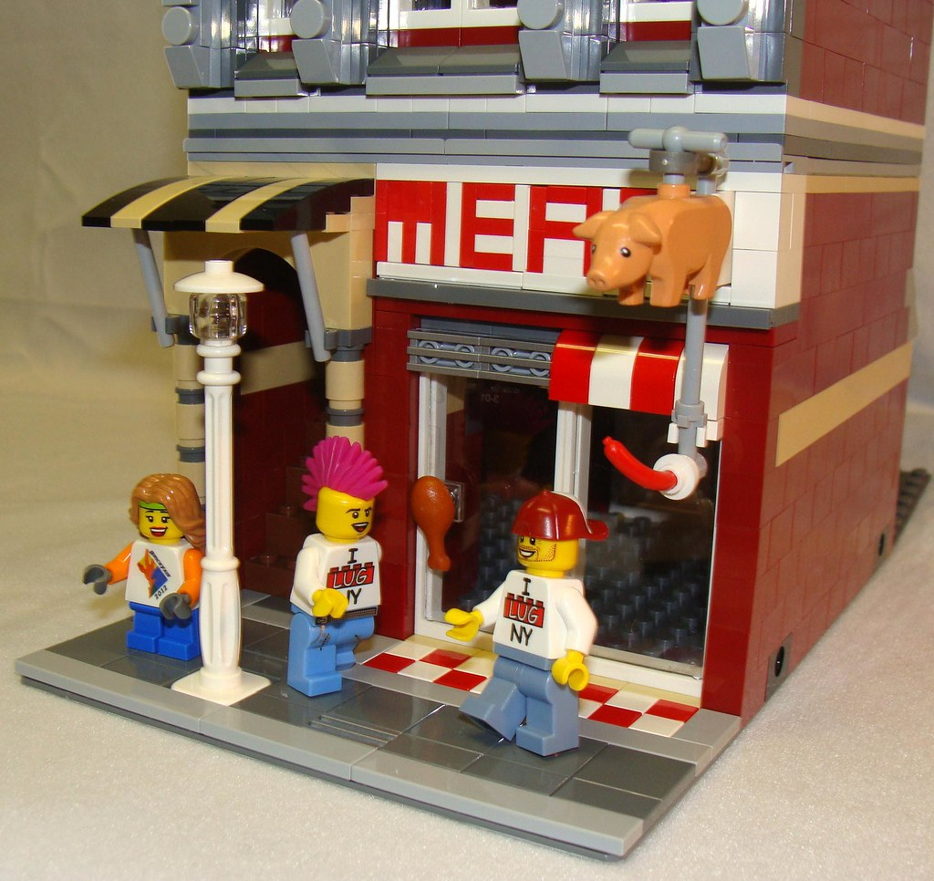 Butcher Shop Ground Floor Angled