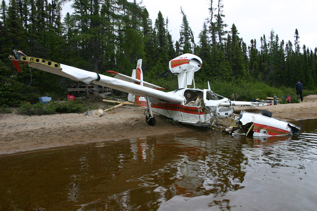 A10Q0087 Amphibious Aircraft Lake Buccaneer C GGFK Flickr