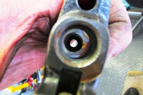 Polished Master Cylinder Bore