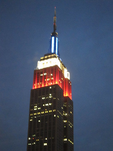 Empire State Building, 4th July 2012, NYC. Nueva York