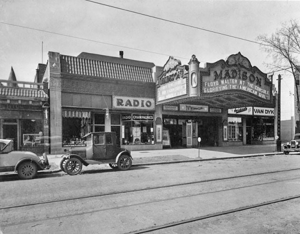 Madison movie Theater madison ave 1930's albany ny pine hi ...