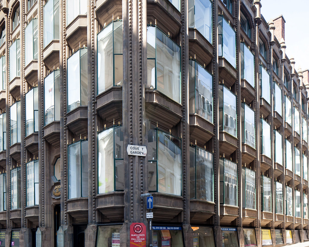 Oriel Chambers Liverpool The Worlds First Metal
