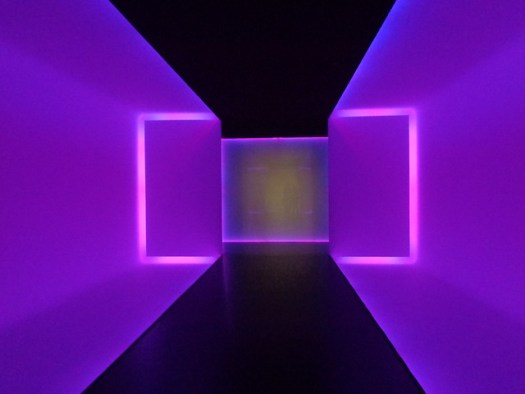 Wilson Tunnel. The Light Inside by James Turrell. The Museum of Fine Arts, Houston