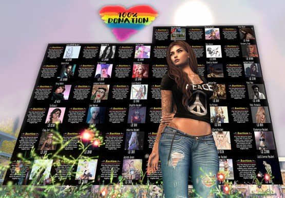 Pulse Fundraiser in Second Life