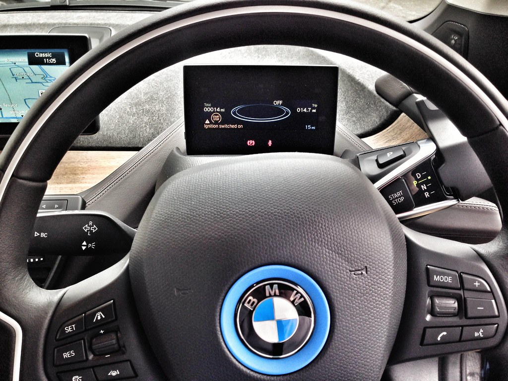Bmw I3 Steering Wheel And Display Our Company Director