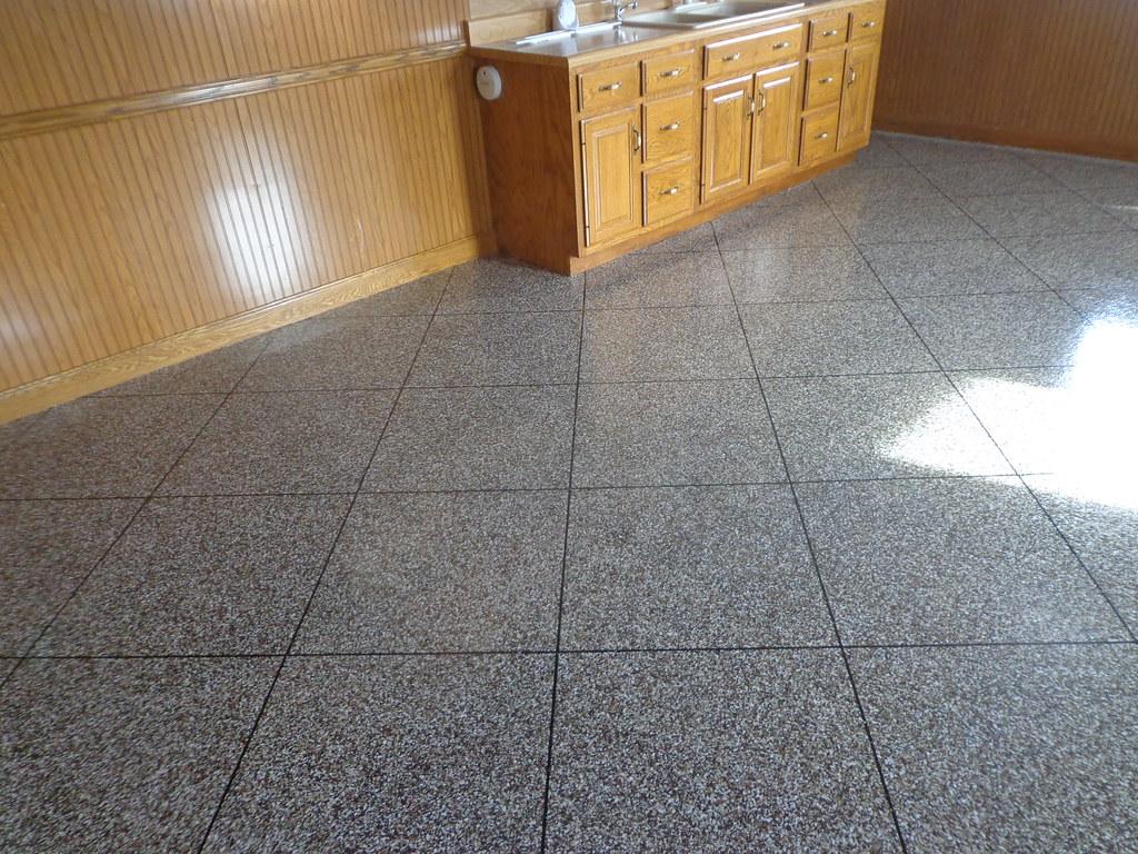 White Floor Tile