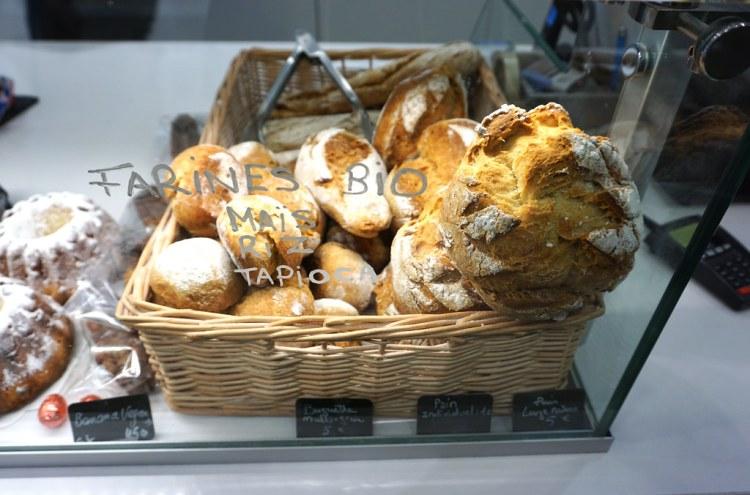 Gluten free bread from Helmut Newcake in Paris, France