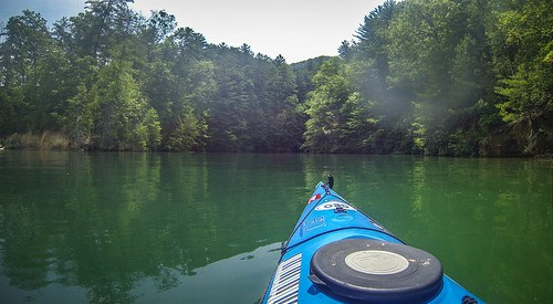 Lake Jocassee Kayaking-74