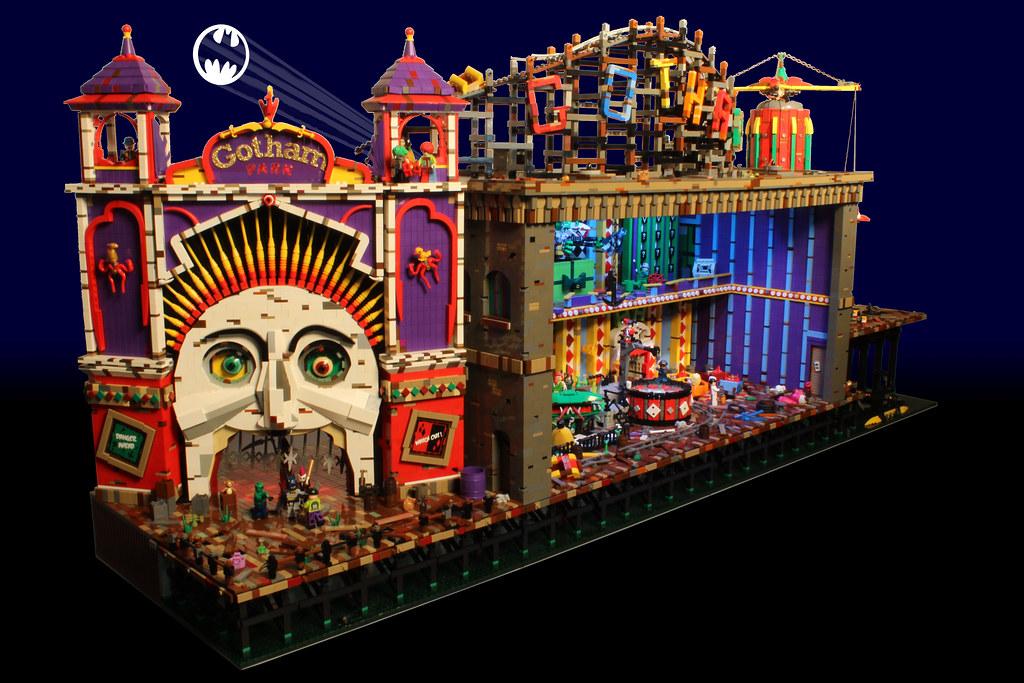Lego Batman And Robin Jokers Funhouse Batman And Robin