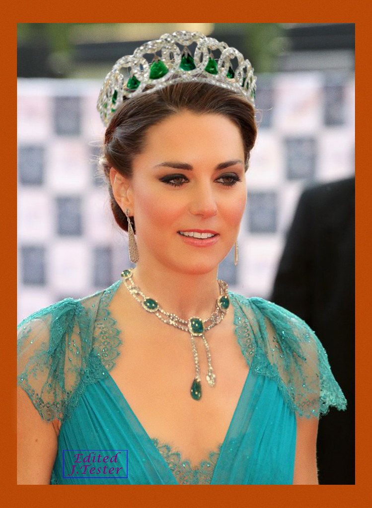 Duchess Of Cambridge Vladimir Tiara Katherine Middleton