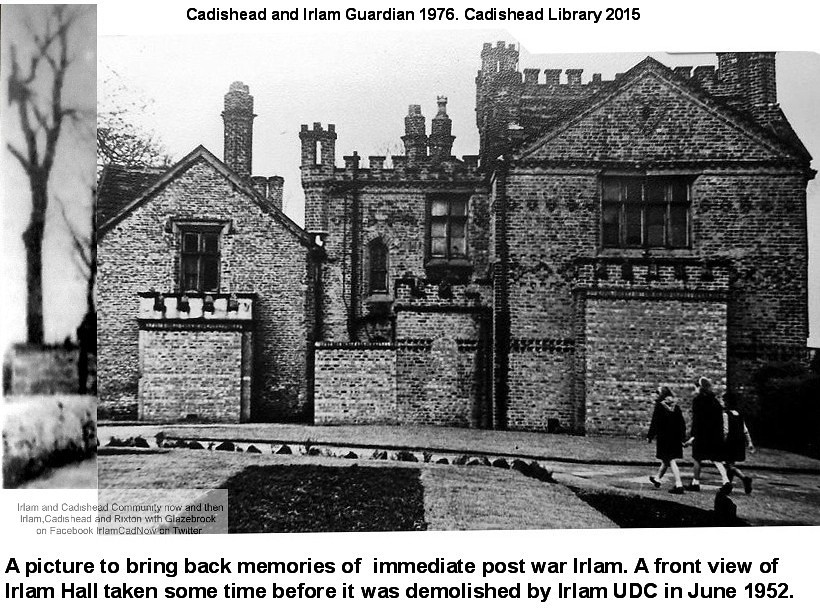 Irlam Hall Cadishead And Irlam Guardian February 20th
