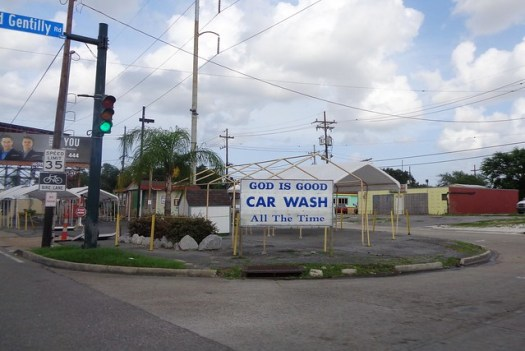 Gd is Good Car Wash, New Orleans