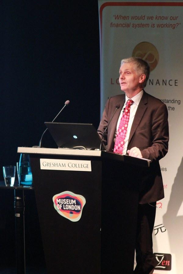 Professor Tony Travers (Director, LSE London) at the 2014 ...