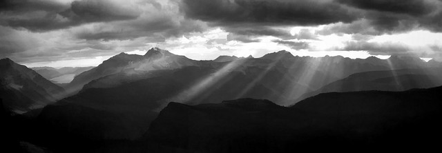 Heavens Peak Panorama