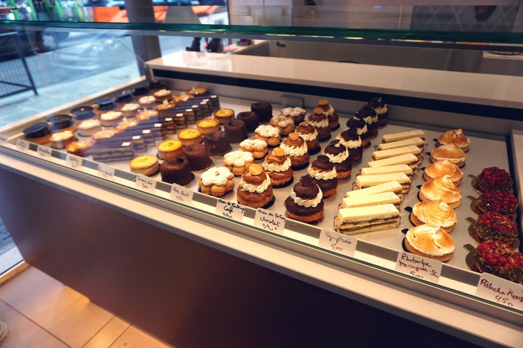 Gluten free pastries, cakes and tarts from Helmut Newcake in Paris, France