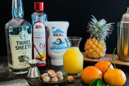 tropical ingredients