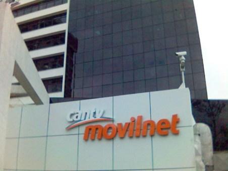 Sede de Movilnet, en la Torre Sur, El Recreo. Caracas. Venezuela