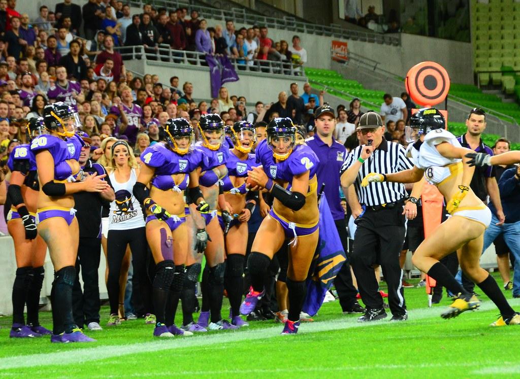 Legends Football League Victoria Maidens Vs Western Austr Flickr