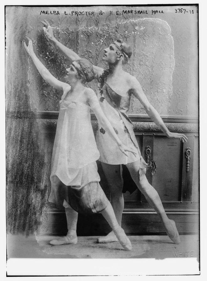 Melba L. Procter & H.E. Marshall Hall [Ballet] (LOC)