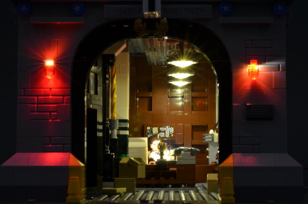 Brickstuff Lighting Kit For The LEGO Ghostbusters Firehous