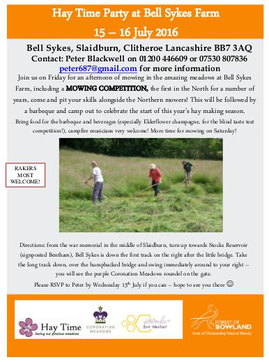 Hay Time Lancashire 2016