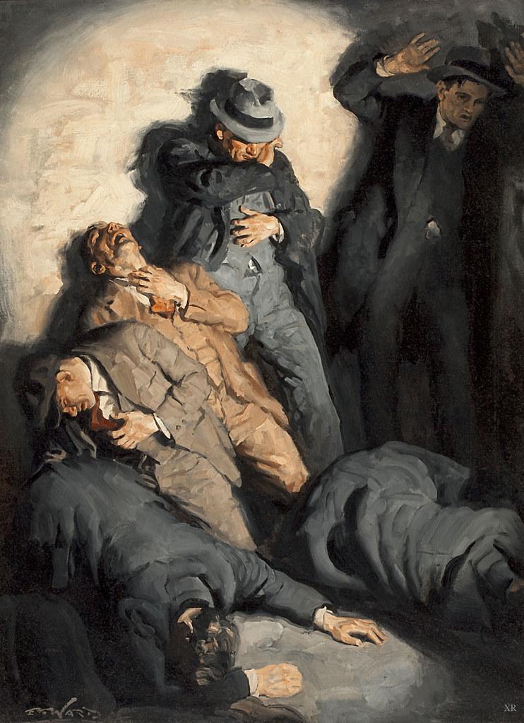 St Valentines Day Massacre Artist Edmund F Ward