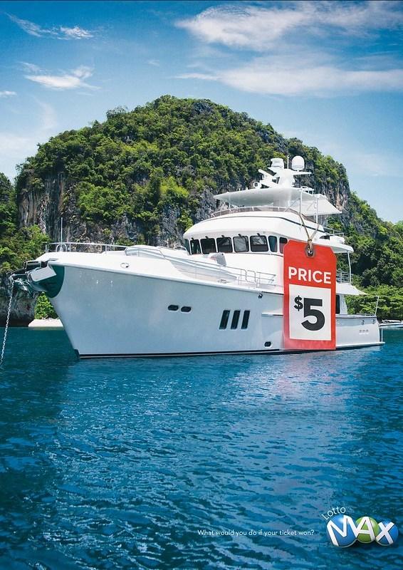 Lotto Max - Yacht