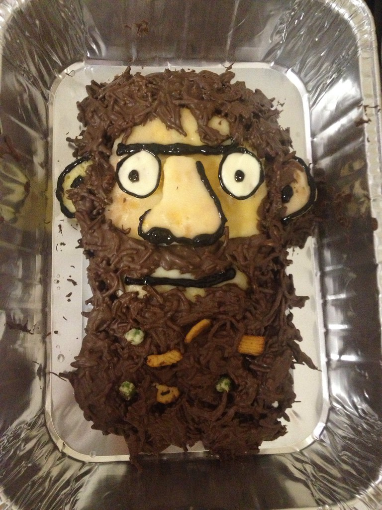Book Cake Mr Twit From Roald Dahl S The Twits Edible